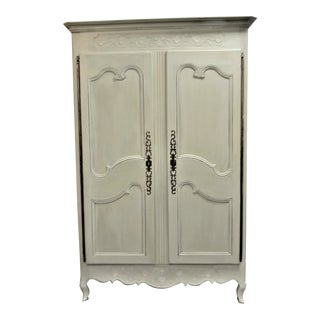 19th Century Louis XV Style Armoire For Sale
