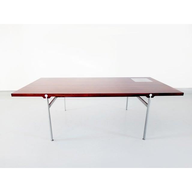 Sofa Table by Illum Wikkelsø for Søren Willadsen Møbelfabrik, Denmark, 1960s - Image 4 of 8