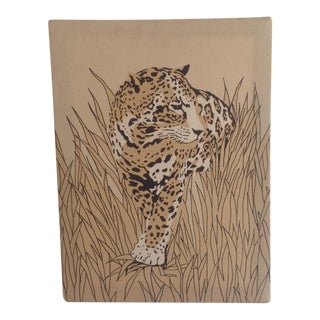 70s Cheetah Canvas Wall Art