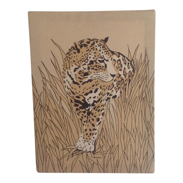 70s Cheetah Canvas Wall Art | Chairish