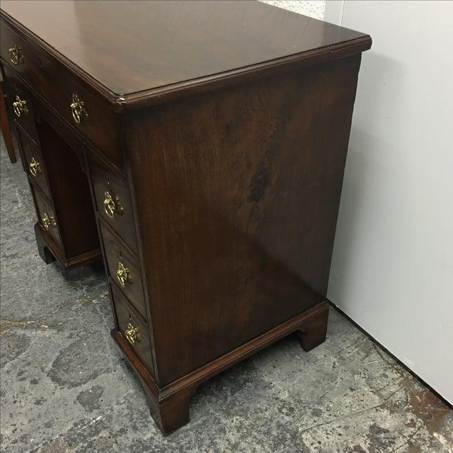 Antique English Bonnet Desk - Image 6 of 9