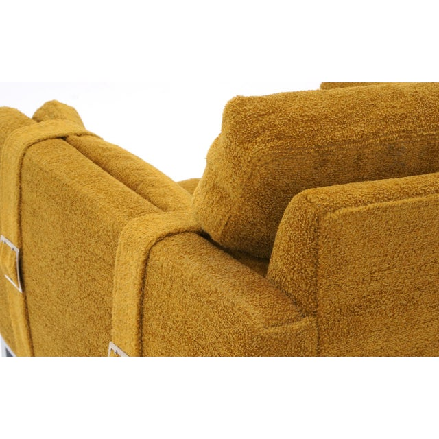 Original Complimenting Pair of Milo Baughman Lounge Chairs - Image 7 of 10