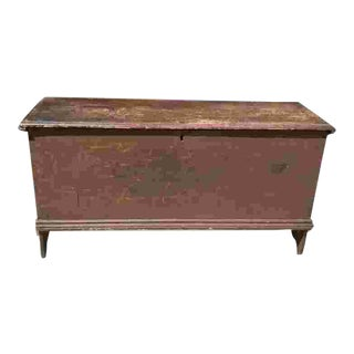 18th C. American Blanket Chest For Sale