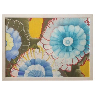 Acrylic Flower Painting For Sale
