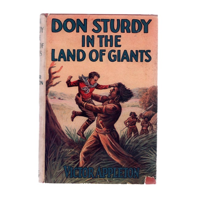 "1930 ""First Edition, Don Sturdy in the Land of Giants"" Collectible Book For Sale In Atlanta - Image 6 of 6"