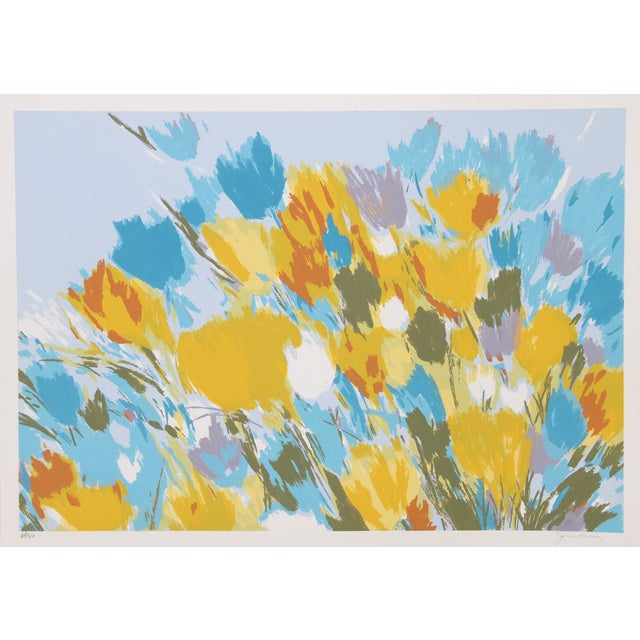 Joan Paley Vintage 'Early Spring' Lithograph - Image 1 of 2