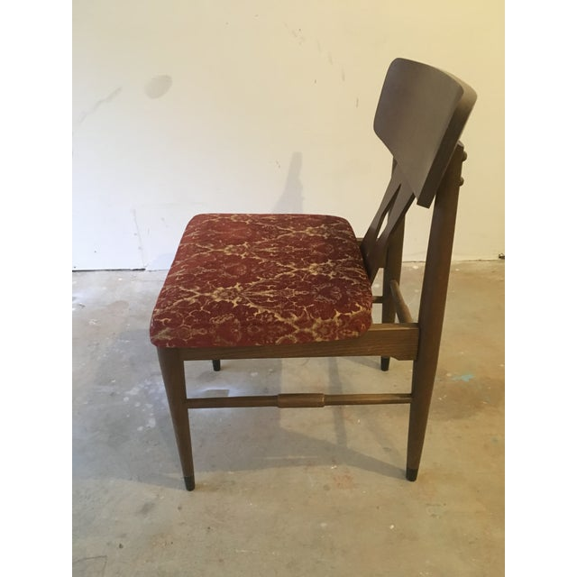 Vintage Modern Danish Style Dining Chairs - Set of 6 - Image 3 of 10