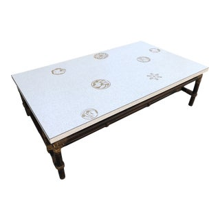 Vintage Ficks Reed Coffee Table For Sale