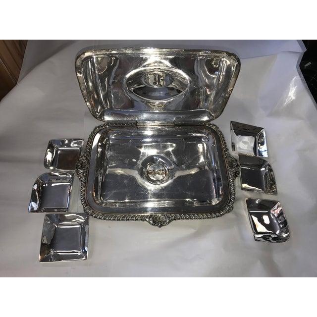 George III Sheffield Silver Plate Cheese Warmer - Image 6 of 8