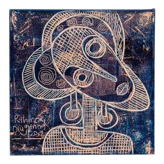 "Rahmon Olugunna ""Single"" Painting For Sale"