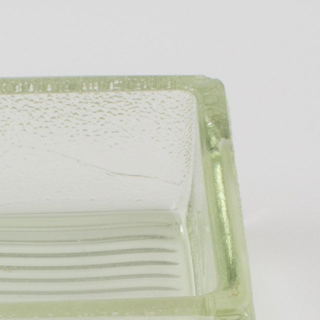 Le Corbusier Le Corbusier for Lumax Molded Glass Catchall Ashtray For Sale - Image 4 of 13