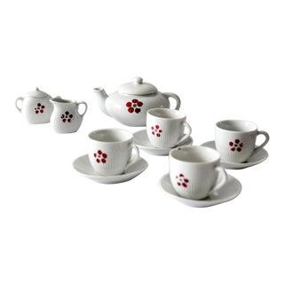 Vintage Miniature Tea Set - Set of 11 For Sale