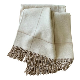 Darwin Alpaca Hand Loomed Throw For Sale