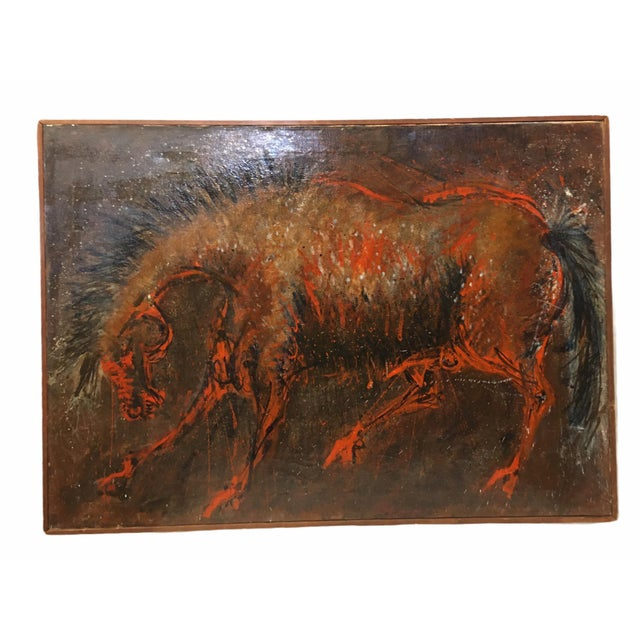 Vintage Mid-Century Oil Painting on Canvas by D. Rogers For Sale - Image 9 of 9