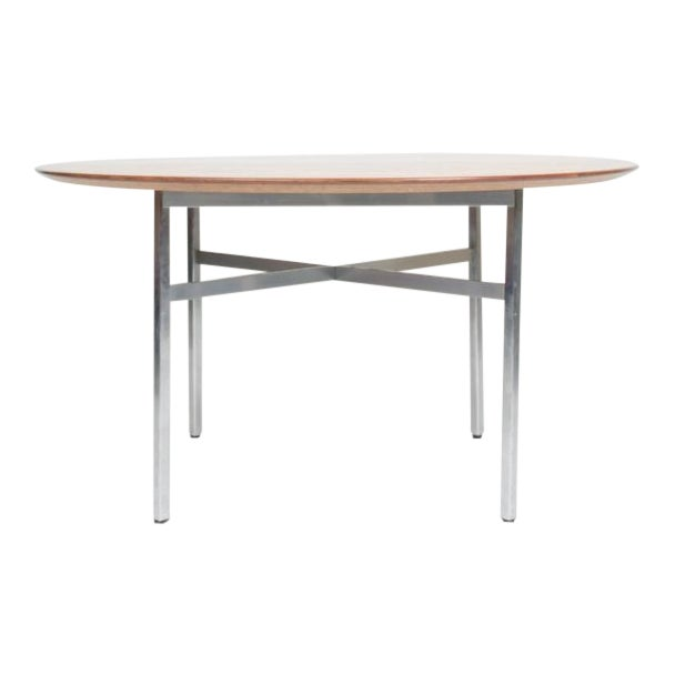 1970s Mid-Century Modern Florence Knoll Dining Table For Sale