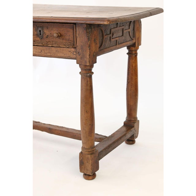 French Early French Walnut Table For Sale - Image 3 of 13