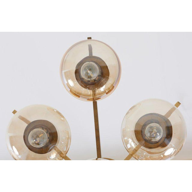 Midcentury Flush Mount by Sciolari For Sale - Image 9 of 13