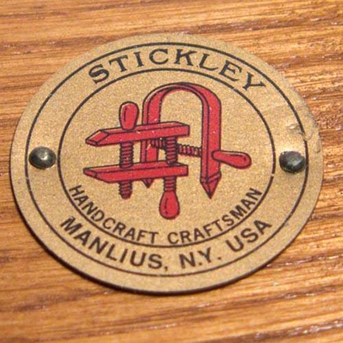 Stickley Harvey Ellis Oak Art & Crafts Chairs - Pair - Image 9 of 9