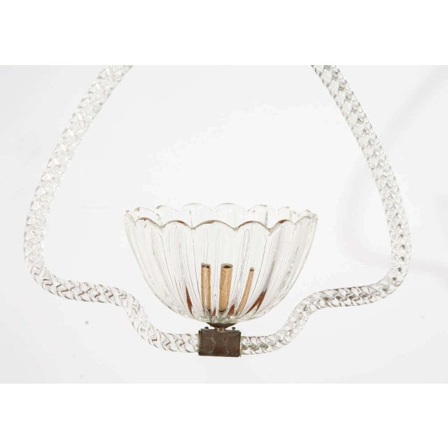 Murano Murano Fixture by Barovier E Toso For Sale - Image 4 of 9