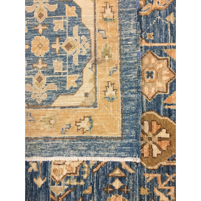 Contemporary Mamluk Hand Knotted Wool Area Rug - 8'3 X 11'1 For Sale - Image 3 of 4