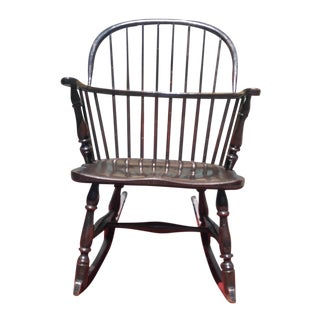 American Windsor Rocking Chair For Sale