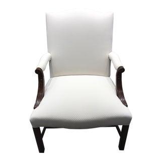Kravet Mark Hampton Side Chair For Sale