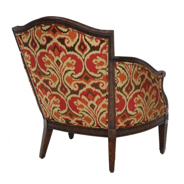 Designer Louis XVI Style Lounge Armchairs - A Pair - Image 3 of 5