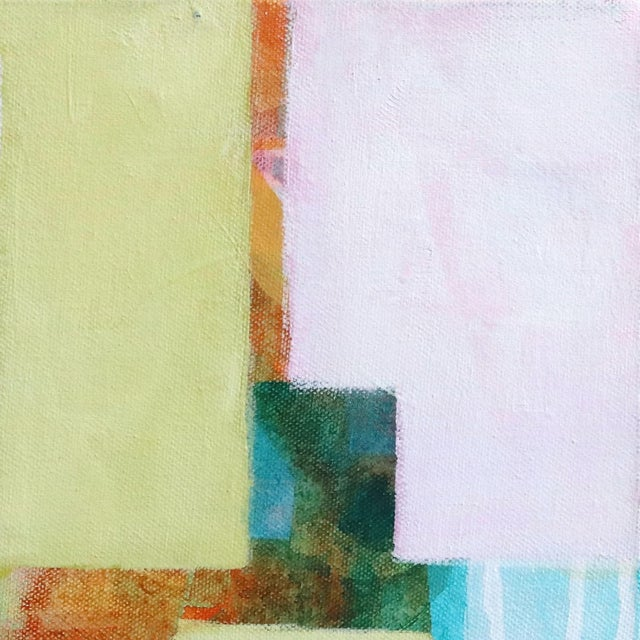 """Abstract """"Dreaming Study #3"""" Original Artwork by Beth Munro For Sale - Image 3 of 10"""
