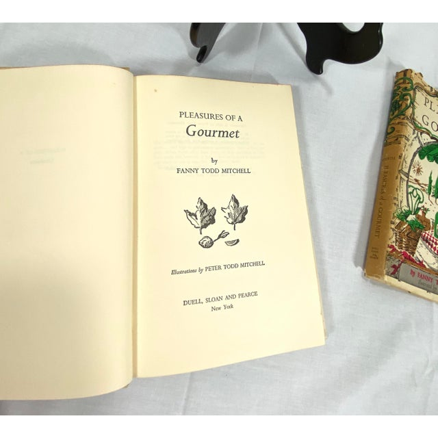 """1960s 1960s """"Pleasures of a Gourmet"""" Cookbook For Sale - Image 5 of 13"""