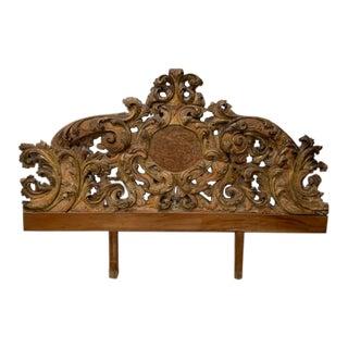 18th Century Italian King Headboard For Sale