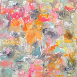 """""""Hey Day"""" Abstract Oil Painting by Trixie Pitts"""