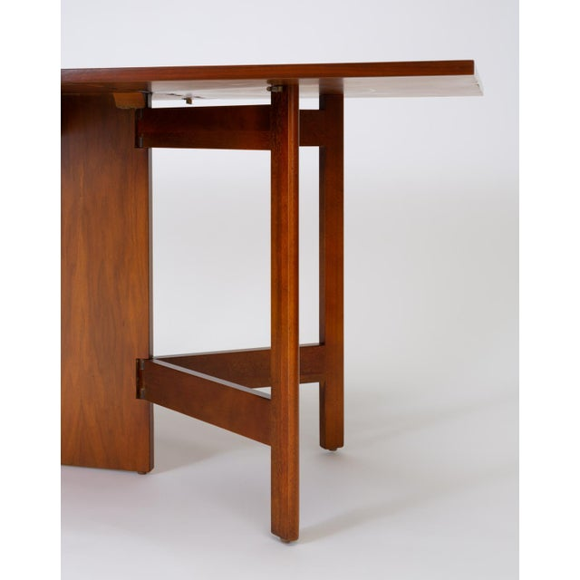 Model 4656 Gateleg Table by George Nelson for Herman Miller For Sale In Los Angeles - Image 6 of 13