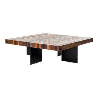 Industrial Erdos + Ko Alesso Coffee Table For Sale