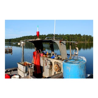 Lobsterman's Life Maine Photograph For Sale