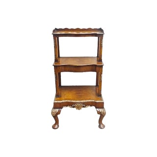 19th Century Georgian Fruitwood Étagère-Style Side Table For Sale