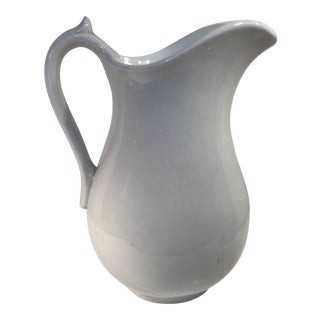 Vintage Mellor Taylor Ironstone Pitcher For Sale