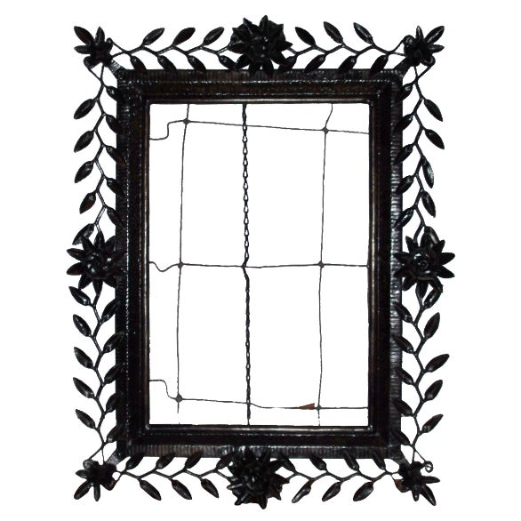 Spanish-Style Metal Frame For Sale