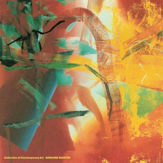 1991 Gerhard Richter 'Merlin' Contemporary Orange,Green,Multicolor,Yellow,Gold Germany Offset Lithograph For Sale