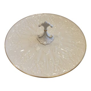 Vintage Lenox Chateau Collection Center Handled Serving Tray For Sale