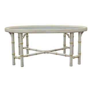 Lane Mid-Century Palm Beach Style Coffee Table For Sale