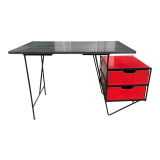 1950s Scandinavian Modern Vista of California Writing Desk For Sale