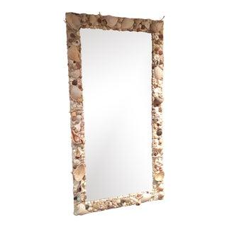 Coastal Full-Length Floor Mirror For Sale