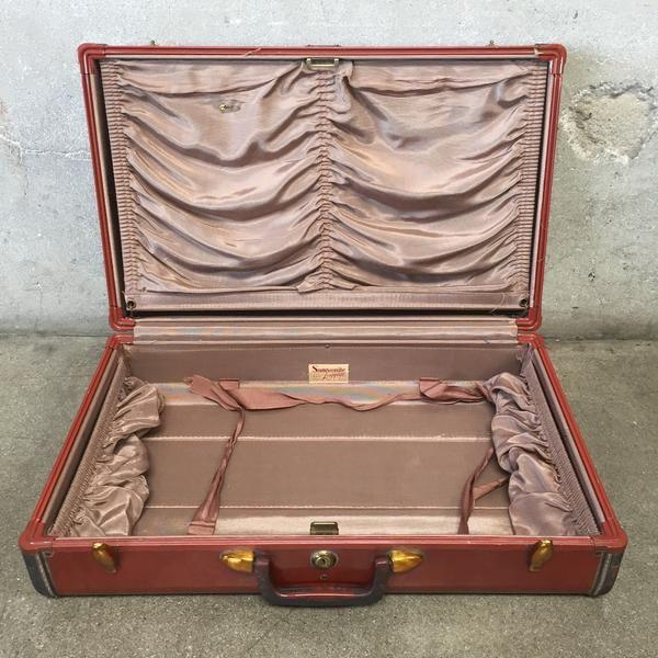 Vintage Samsonite Luggage For Sale - Image 5 of 8