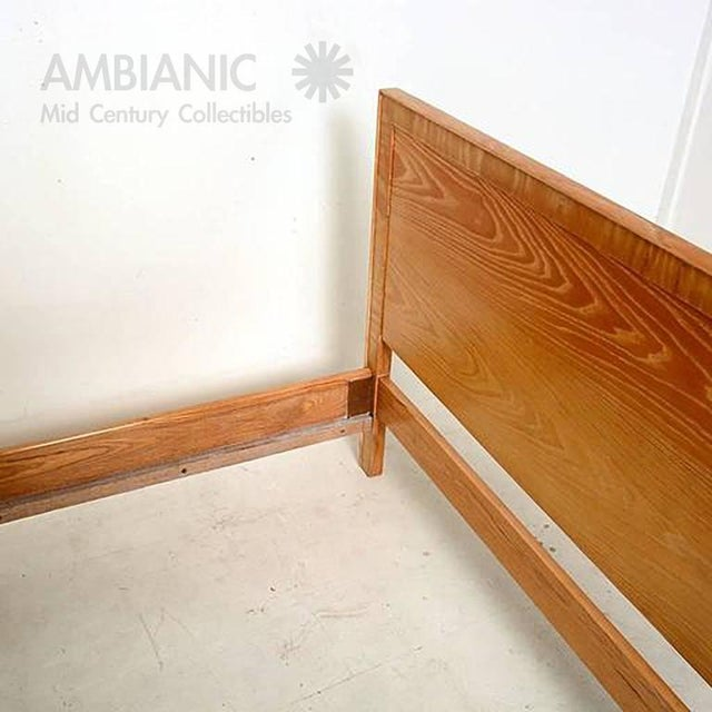 Lacquer Paul Frankl for Brown Saltman Full Size Bed For Sale - Image 7 of 9