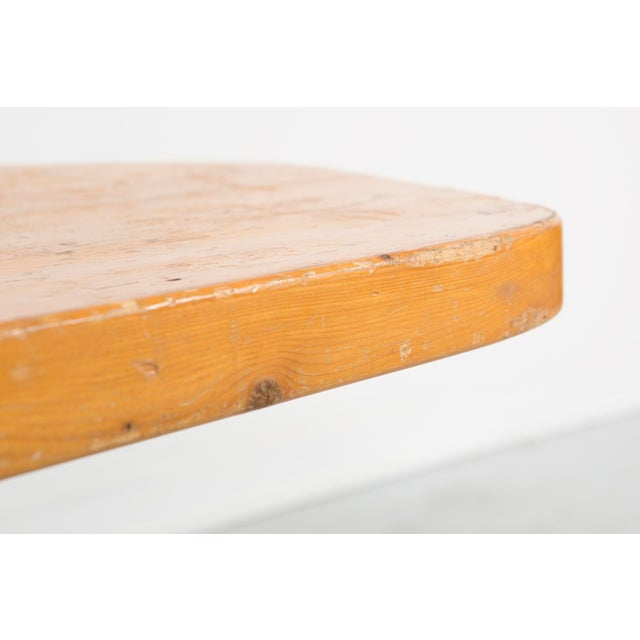 "Mid-Century Modern Les Arcs ""Forme Libre"" Table by Charlotte Perriand For Sale - Image 3 of 8"