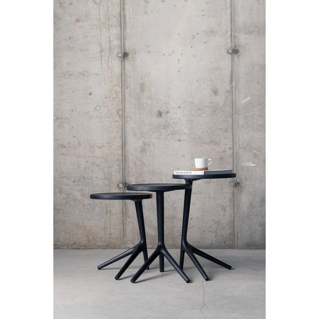 Contemporary Tripod Nesting End Tables - Set of 3 For Sale - Image 11 of 13