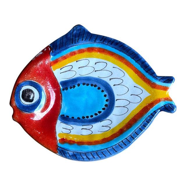 Giovanni DeSimone Italian Fish Plate For Sale