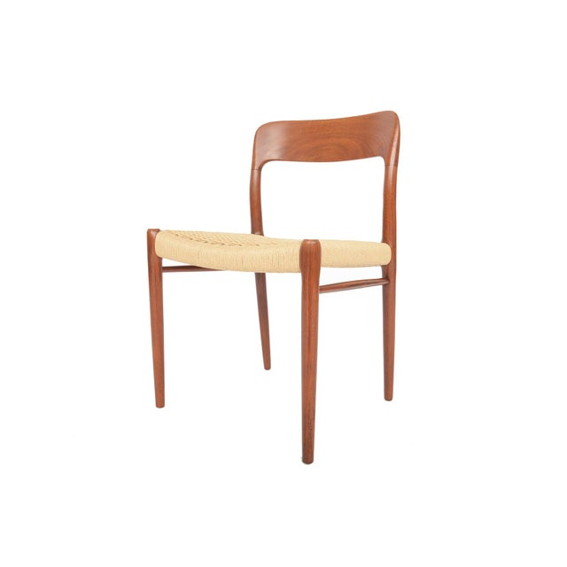 Møller Model 75 Teak Dining Chairs - Set of 6 - Image 3 of 10
