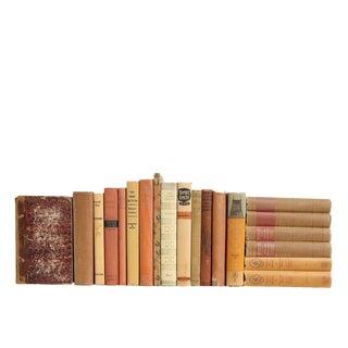 Vintage Verse in Shades of Amber - Twenty Decorative Books