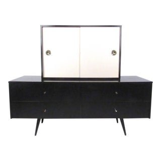 Paul McCobb Planner Group Credenza with Hutch For Sale